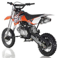New Adult Size - Apollo DBX14 - 125cc Semi-Auto Dirt Bike - Free Shipping dirt bike Wholesale ATV Orange