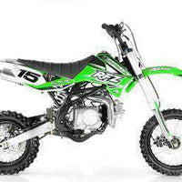 New Adult Size - Apollo DBX15 - 125cc 4 Speed Manual Dirt Bike - Free Shipping dirt bike Wholesale ATV green