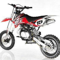 New Adult Size - Apollo DBX15 - 125cc 4 Speed Manual Dirt Bike - Free Shipping dirt bike Wholesale ATV red