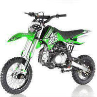 New Adult Size - Apollo DBX16 - 125cc Fully Automatic Dirt Bike - Free Shipping dirt bike Wholesale ATV green