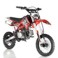 New Adult Size - Apollo DBX16 - 125cc Fully Automatic Dirt Bike - Free Shipping dirt bike Wholesale ATV red
