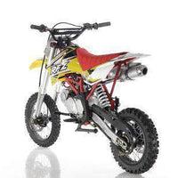 New Adult Size - Apollo DBX16 - 125cc Fully Automatic Dirt Bike - Free Shipping dirt bike Wholesale ATV Yellow