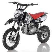 New 125cc Youth - Apollo DBX5 - 4 Speed Manual Dirt Bike - Free Shipping dirt bike Wholesale ATV black