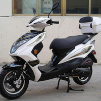 New 170cc - Dongfang Super 200 - Sport Style Scooter - Free Shipping scooters Wholesale ATV white