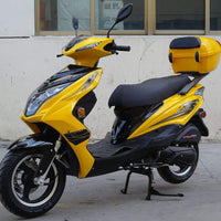 New 49cc- Dongfang Super 50 Scooter - Free Shipping scooters Wholesale ATV yellow
