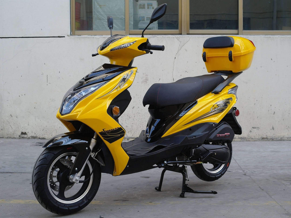 New 170cc - Dongfang Super 200 - Sport Style Scooter - Free Shipping scooters Wholesale ATV Yellow