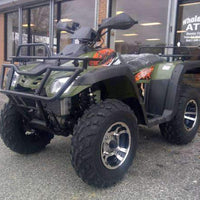 New 300cc - Buyang Monster 300 - Adult 4x4 Utility ATV - Free Shipping atvs Wholesale ATV Green