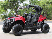 New 170cc - DongFang 200GVK-N - Youth/Adult UTV - Free Shipping utvs Wholesale ATV Burgundy