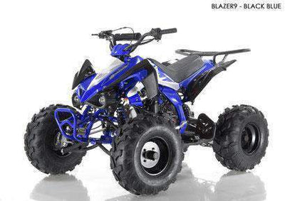 New 125cc - APOLLO BLAZER 9 - Fully Auto Youth Sport ATV with Reverse