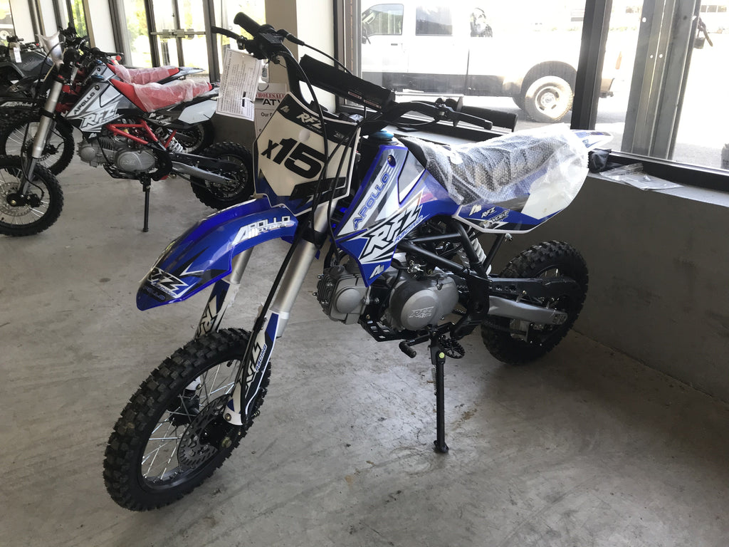 New Adult Size - Apollo DBX15 - 125cc  4 Speed Manual Dirt Bike