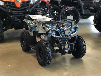 New Youth 60cc ATV Vitacci Mini Hunter with Headlights & Racks - Kids ATV Four Wheeler