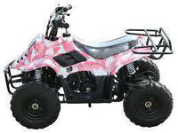 New Kids 110cc ATV - Coolster 3050C - ATV with Headlight & Rack - CA Carb Approved - Free Shipping atvs Wholesale ATV Pink Army Camo