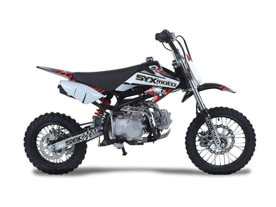 New Icebear DR-X ROOST(PAD125-1) - Manual Clutch 4 Speed Youth/Teen Dirtbike