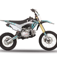 New Icebear SYX MOTO WHIP (PAD125-3) - Adult/Teen Size 125cc Manual Dirt Bike