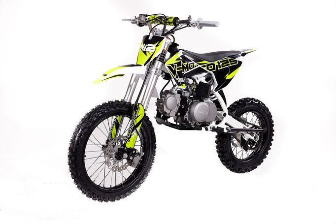 New Adult Size - Vitacci V12 - 125cc Dirt Bike