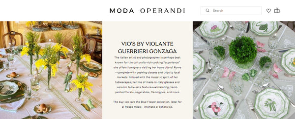 Vio's Shop in ModaOperandi