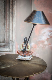 Chinese Figurine - Lamp - right