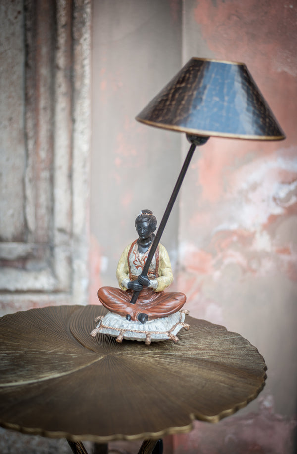 Chinese Lamp - Woman