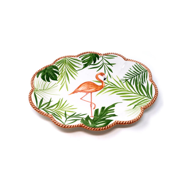 Flamingo Dessert Plate No. 3