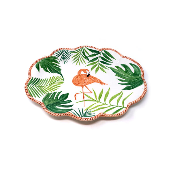 Flamingo Dessert Plate No. 5