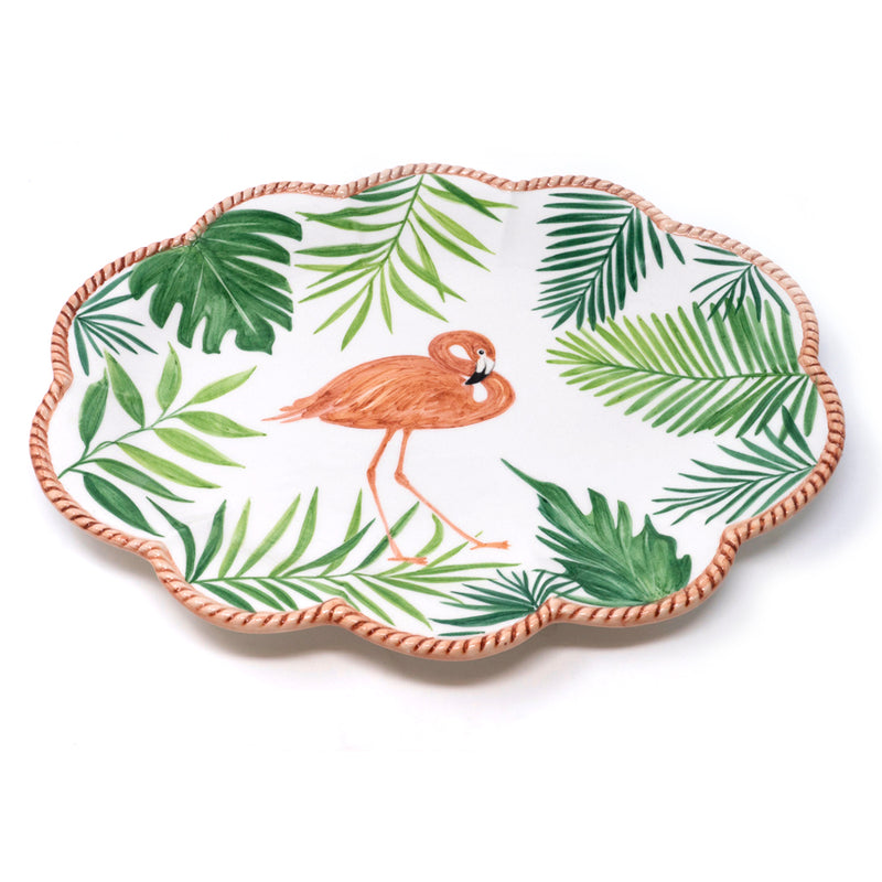 Flamingo Dinner Plate No. 1
