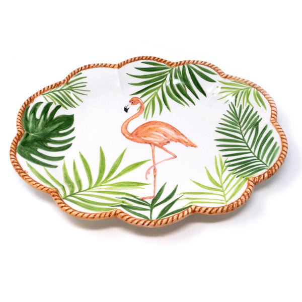 Flamingo Dinner Plate No. 2