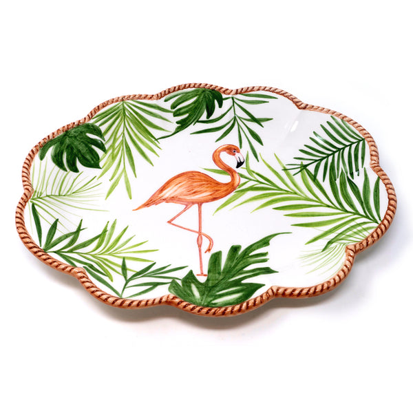 Flamingo Dinner Plate No. 3
