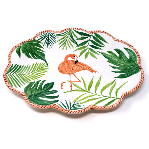 Flamingo Dinner Plate No. 5