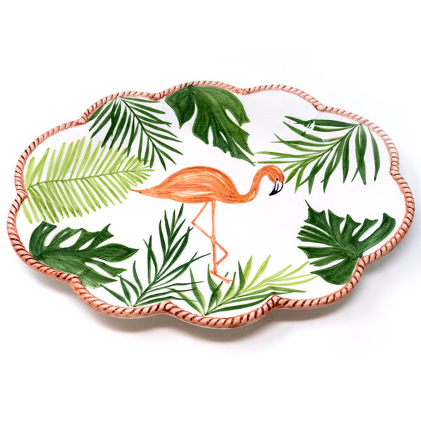 Flamingo Dinner Plate No. 6
