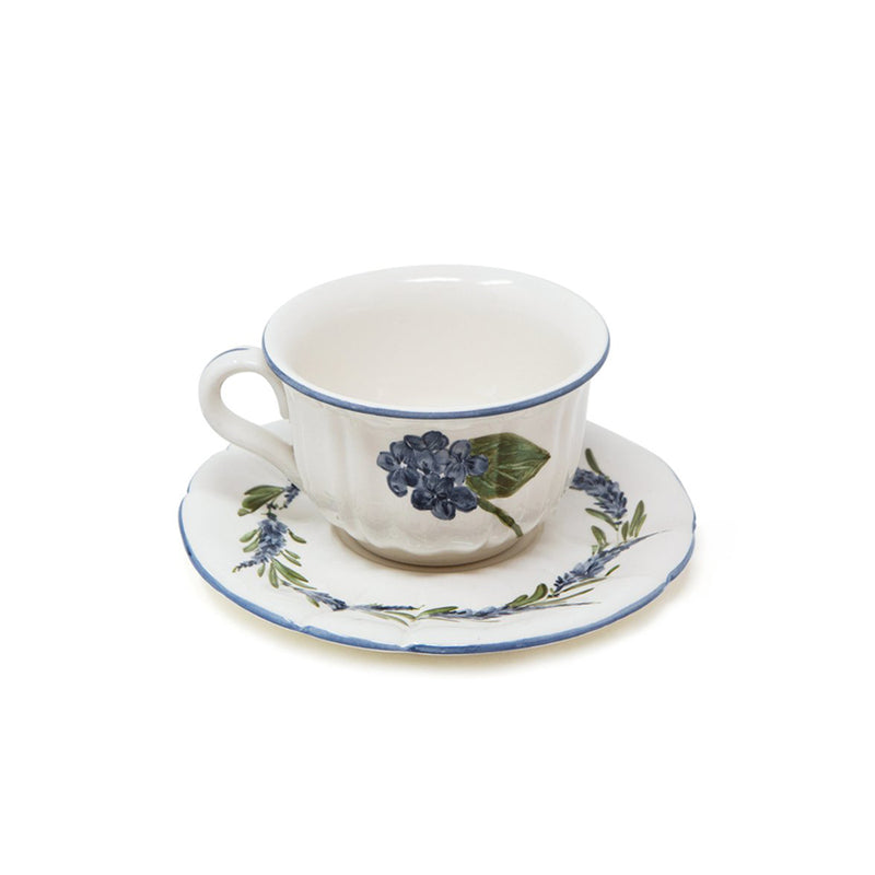 Flower Tea Cup with Saucer No. 1