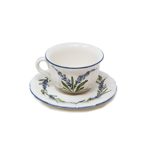 Flower Tea Cup with Saucer No. 3