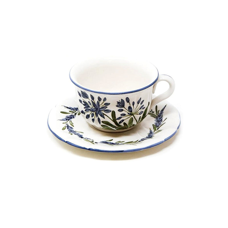 Flower Tea Cup with Saucer No. 5