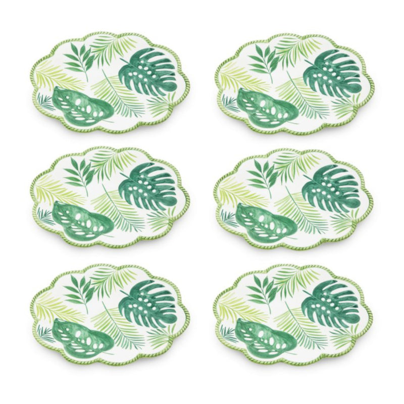 Garden Set-Of-Six Salad Plates