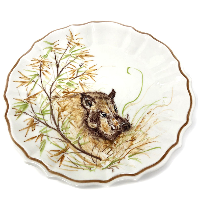 Hunting Dinner Plate - Wild Boar