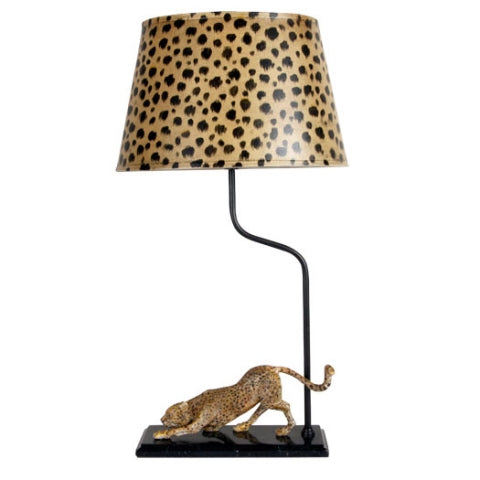Cheetah Lamp