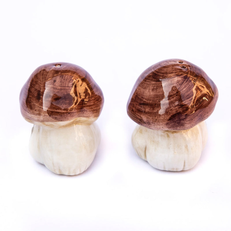 Mushroom Salt & Pepper Set - Thin
