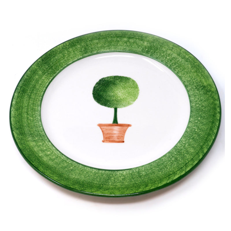 Topiary Dinner Plate No. 1