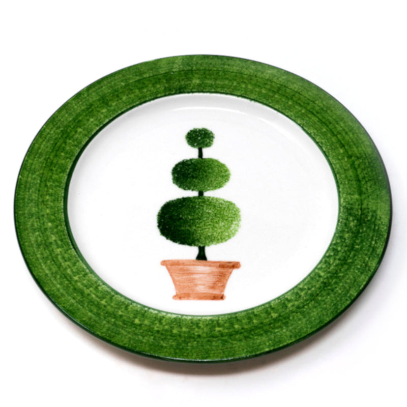 Topiary Dinner Plate No. 3