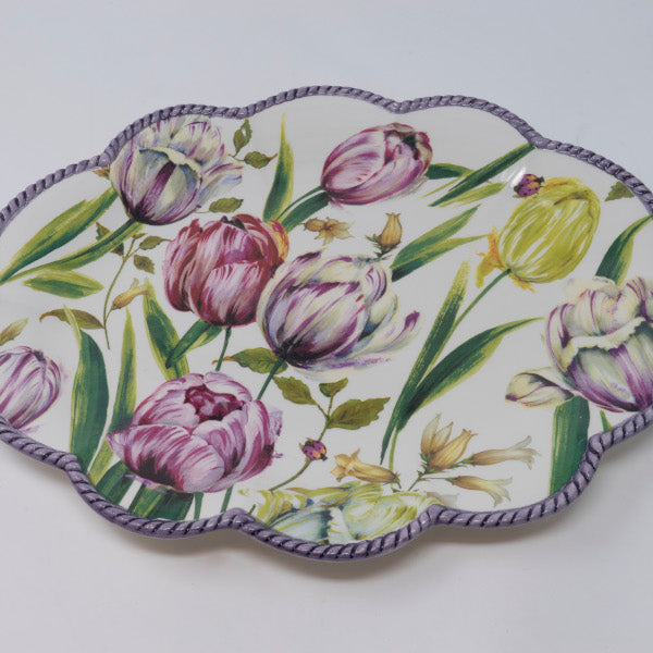 Tulip SET - Dinner plate, Fruit plate and Soup plate
