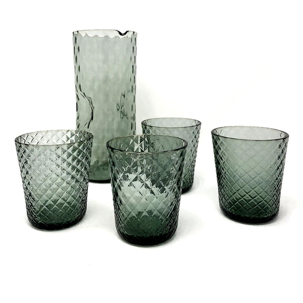 Tumbler Glass Veneziano - Light Grey