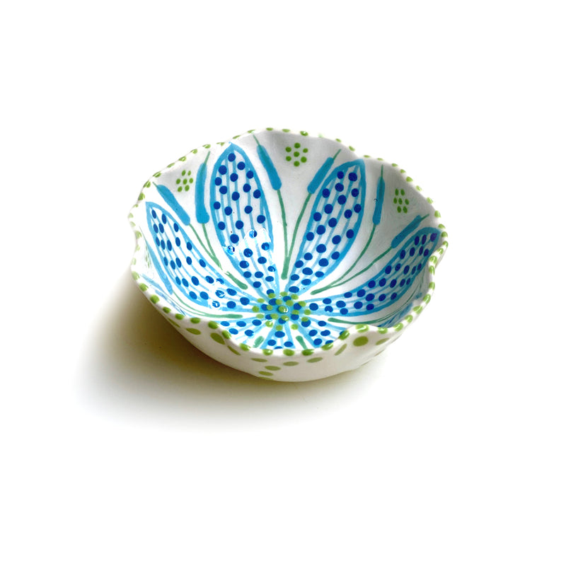 Twilly Bowl - Turquoise Pattern
