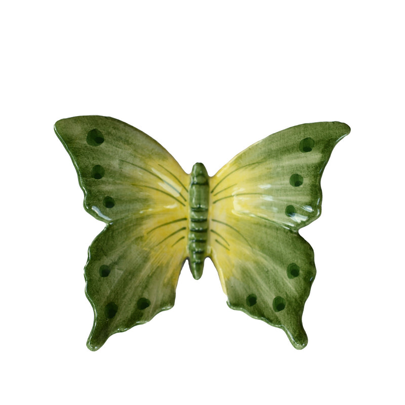 Green Butterfly Figurine
