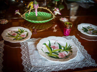 Bird and flower plate