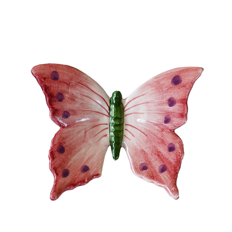 Pink Butterfly Figurine