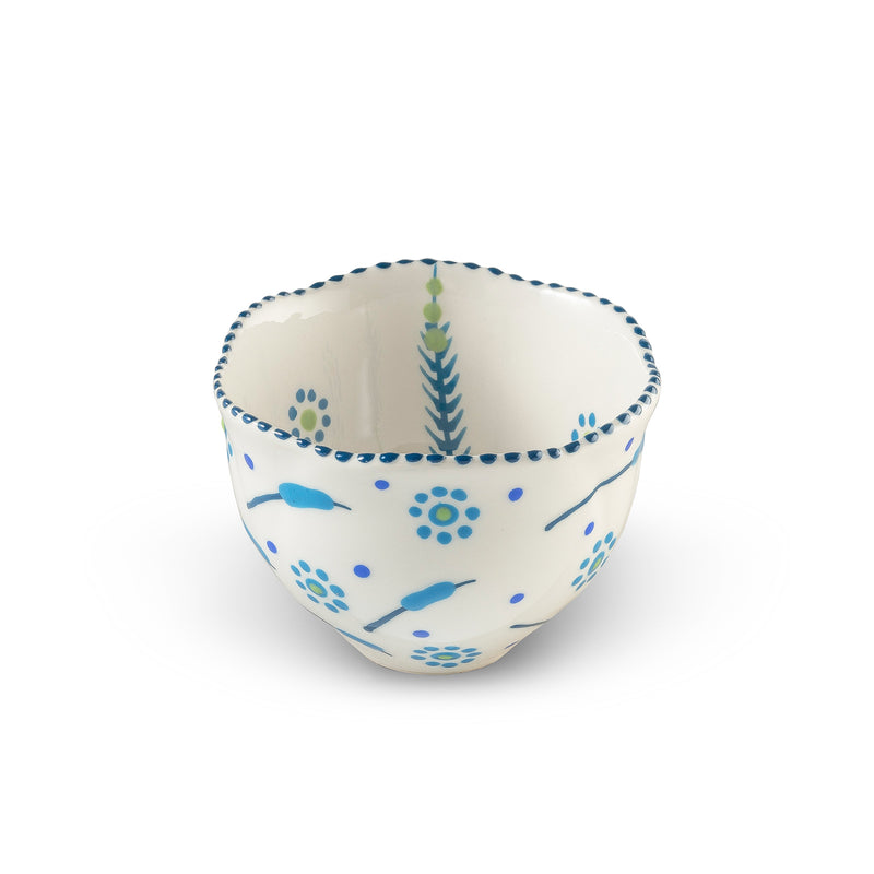 Twilly Sugar Pot - Turquoise Pattern