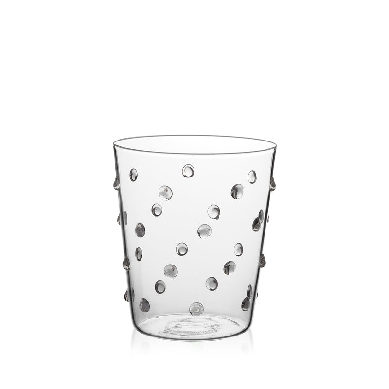 Tumbler Glass - Transparent Bubble