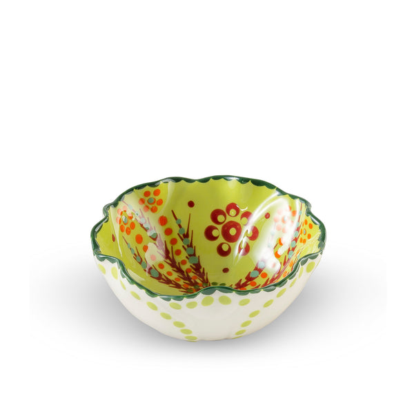 Twilly Festive Bowl - Green Pattern