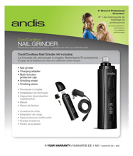 Load image into Gallery viewer, Andis Andis Cord/Cordless Dog Nail Grinder