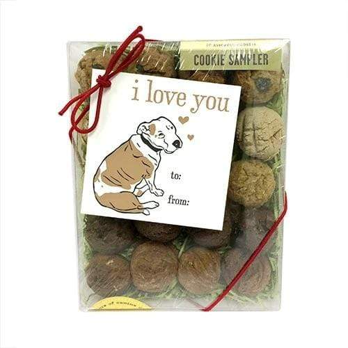 Bubba Rose Biscuit Co. Bubba Rose Biscuit Company I Love You Dog Treat Gift Box