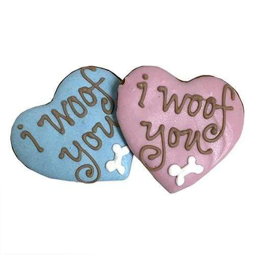 Bubba Rose Biscuit Co. Bubba Rose Biscuit Company I Woof You Valentine's Day Dog Cookies Dog Treats